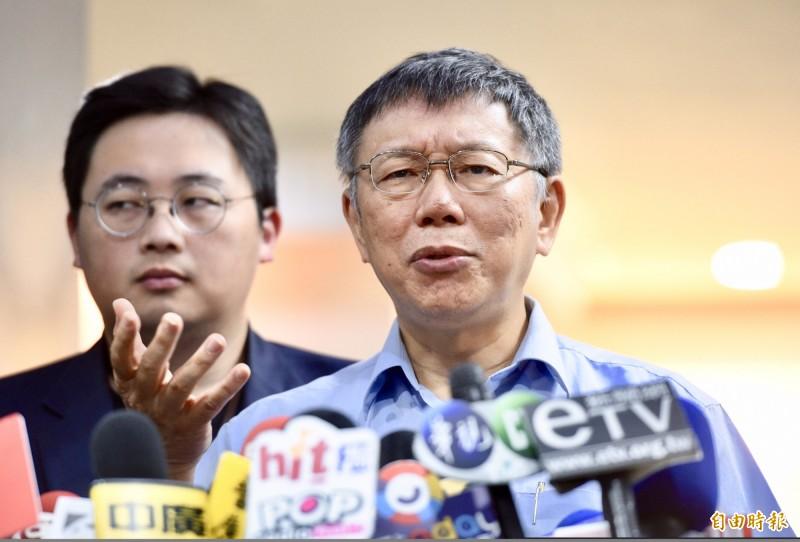 國安局爆走私香菸 柯文哲:蔡總統一定很懊惱
