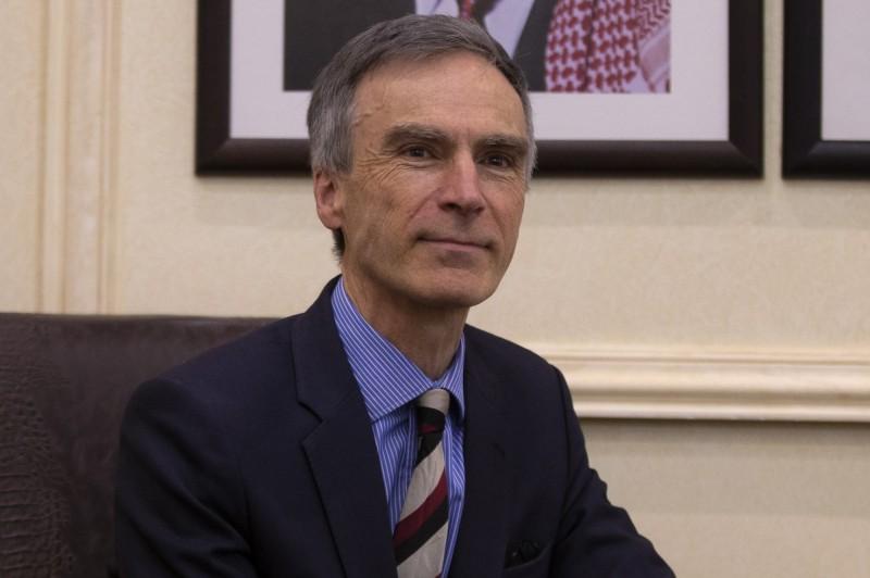 英國外交部國務大臣穆里森(Andrew Murrison)。(歐新社資料照)