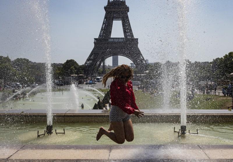 熱浪再襲歐!巴黎氣溫恐創新高 南法核電廠被迫停機