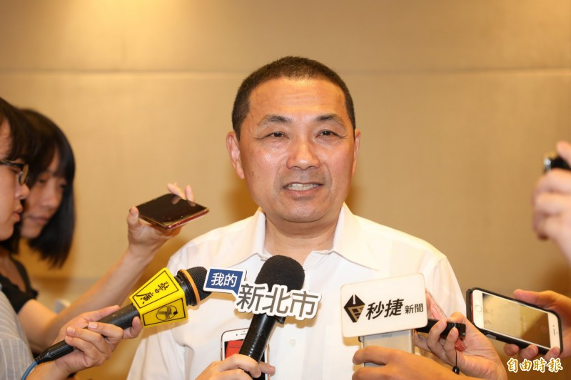 新北市長侯友宜傾向不出席國民黨全代會,至於是否輔選韓國瑜?他說,市政做好就是最好的輔選。(記者賴筱桐攝)