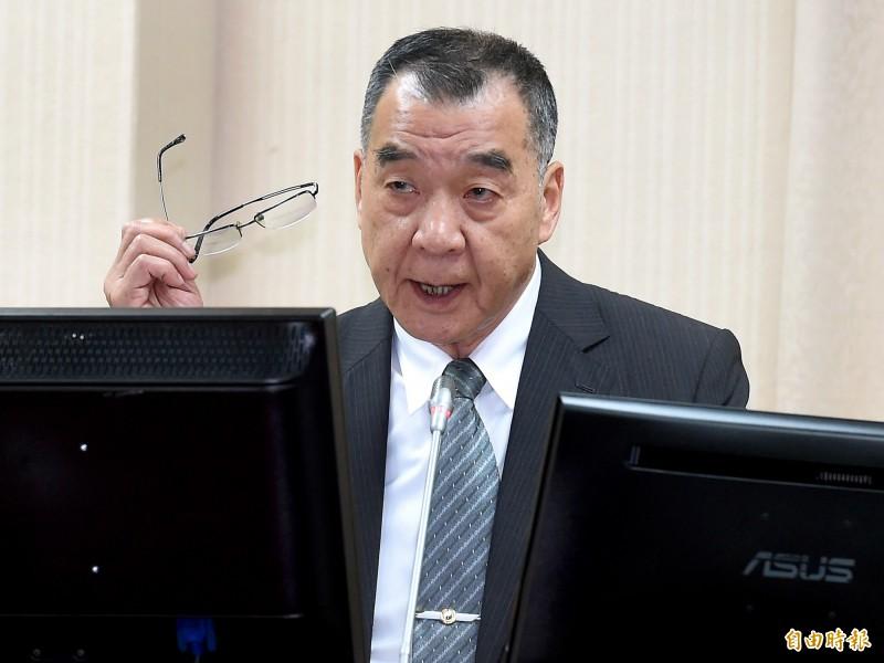 退輔會主委邱國正將接任國安局長一職。(資料照)