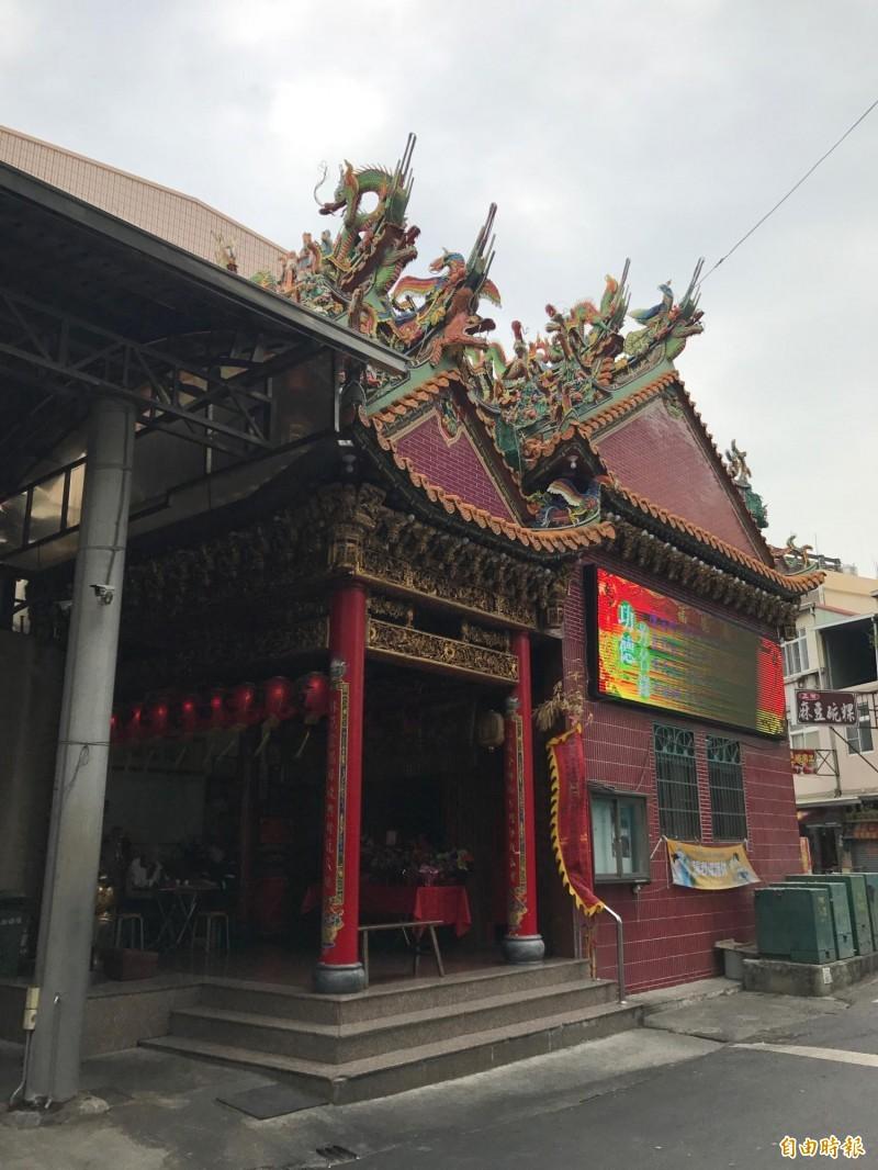 東林福德廟為知名百年老廟。(記者洪臣宏攝)