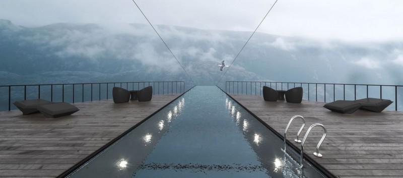 最底層的游泳池示意圖。(圖擷自Hayri Atak網站)