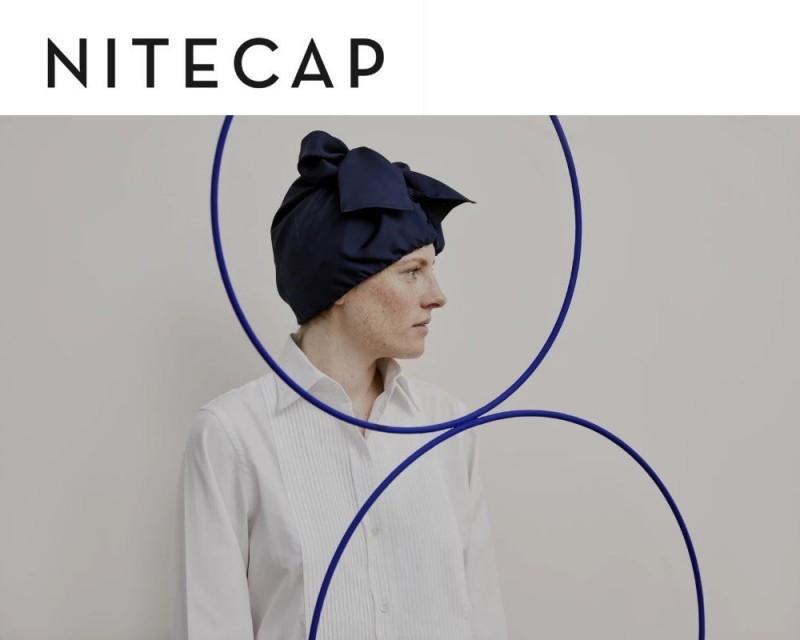 加拿大企業家林登博聲稱自己發明了「絲質邦尼特帽」且標價高達台幣2310元,引來各界批評。(圖取自NiteCap官網)
