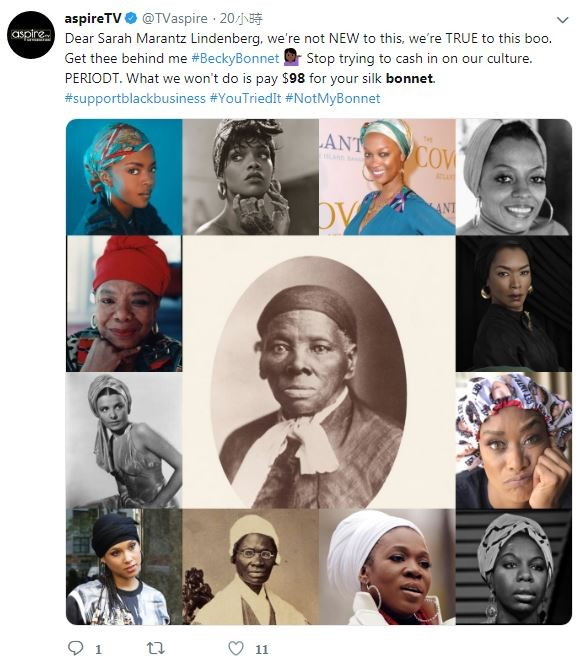 林登博的說法遭到非裔社群怒轟:「我老祖宗就在戴了!」。圖中央為美國廢奴先驅哈莉特‧塔布曼(Harriet Tubman)。(圖取自Twitter)