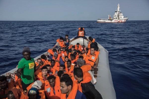 利比亞週四發生今年最嚴重船難,此為示意圖,與本次事件無關。(歐新社)