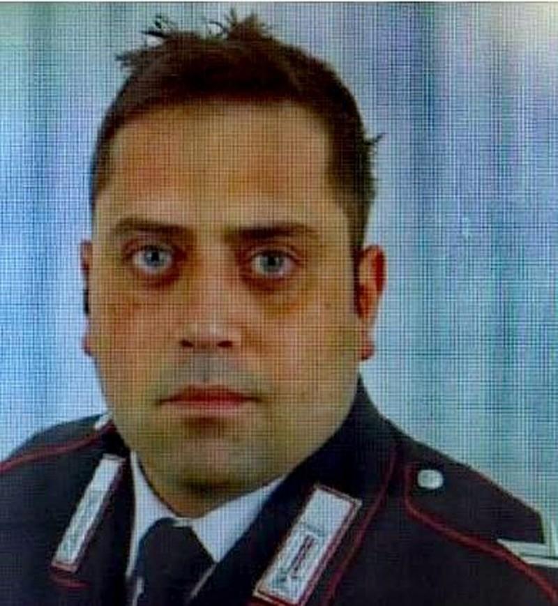 35歲的員警雷加(Mario Cerciello Rega)遭19歲美籍遊客刺死,震驚義大利社會。(美聯社)