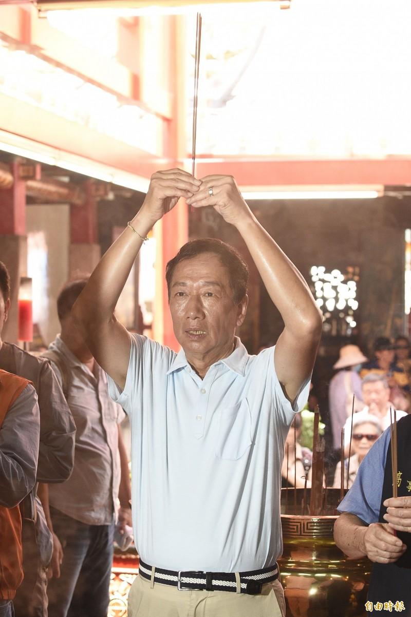 國民黨中評委憂心分裂,希望國民黨能邀請郭台銘回到團結行列,不要有脫黨的情形發生。(資料照)