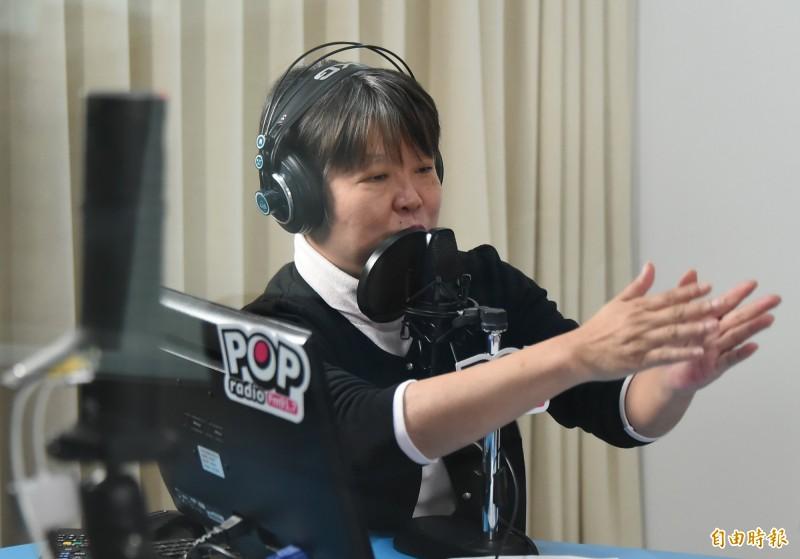 資深媒體人黃光芹今上午在臉書撰寫〈每一句都很諷刺!!聽韓國瑜20分鐘演講有感〉一文發表她的看法。(資料照)