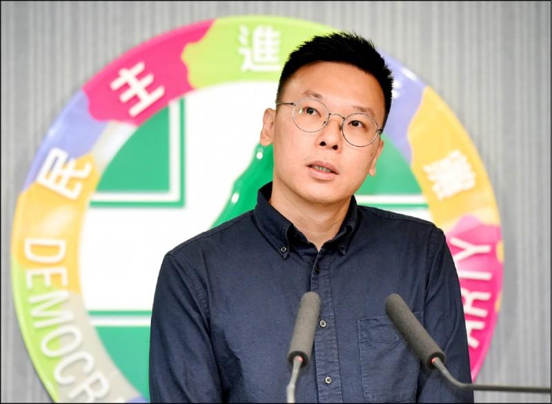 民進黨副秘書長林飛帆表示,有信心國會席次過半。(資料照)