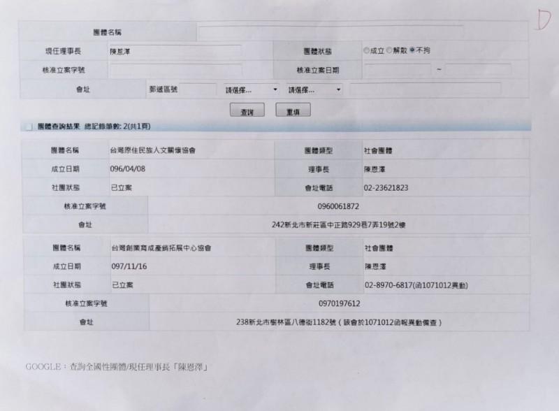 王浩宇出示收到高潞獲得經濟部補助的舉報文件。(記者李容萍翻攝)
