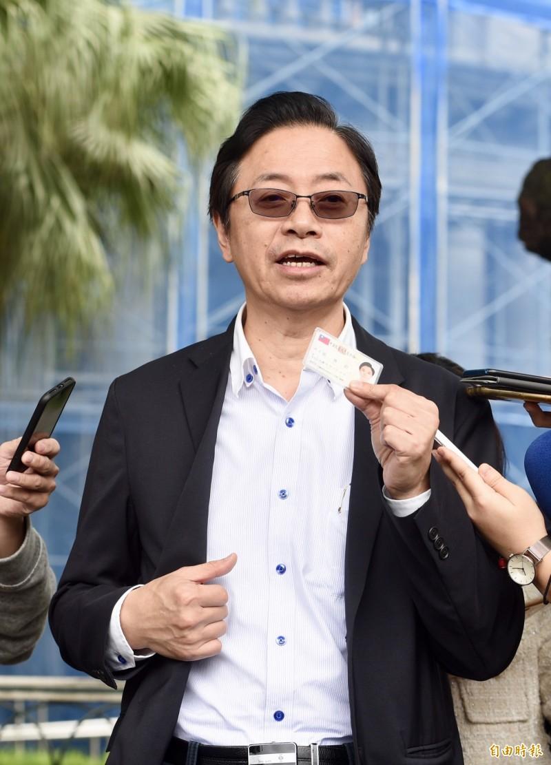 張善政直言,對岸已經不接受一中各表,他會建議韓國瑜在兩岸論述上不要維持國民黨的九二共識,改為「憲法一中、台灣優先」。(資料照)