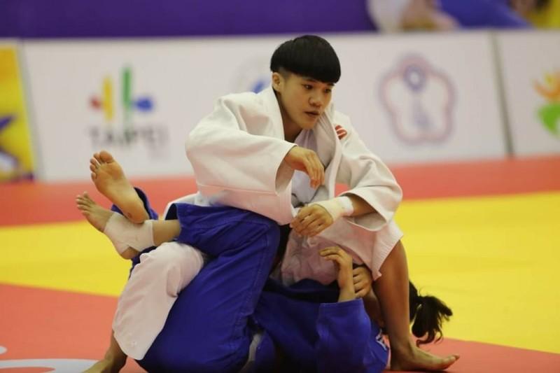 楊宇潔獲得銅牌。(東大提供)