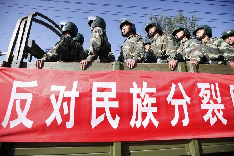今年9月中國將啟用新版的高中歷史課本,內容強化描述歷史固有疆域、大一統意識形態,台灣也被列在其中。(美聯社)