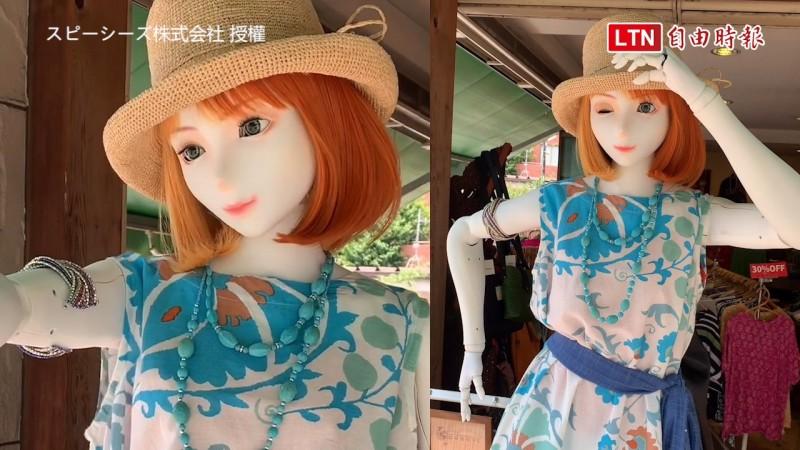 日本一家公司開發出了偶像機器人,不只可以用來展示服裝,更希望能在更多舞台活躍。(圖片由スピーシーズ株式会社 授權提供使用)