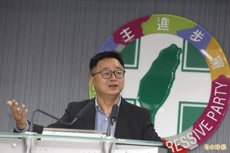 民進黨秘書長羅文嘉日前表示,民進黨提名策略小組已有共識,在2016年立委選舉選區,若他黨已經有連任或現任立委,民進黨會「保持尊重」。(資料照)