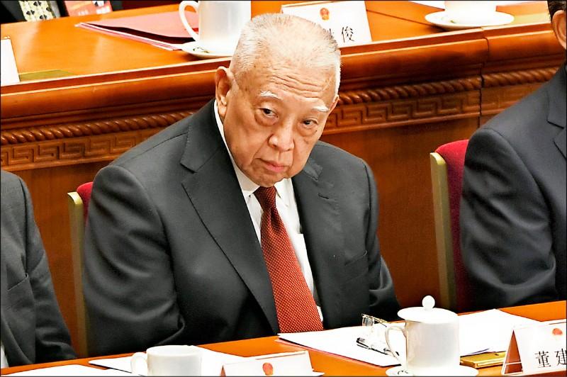 前香港特首董建華七月卅一日指控,美國和台灣是這波「反送中」運動幕後推手。(法新社檔案照)