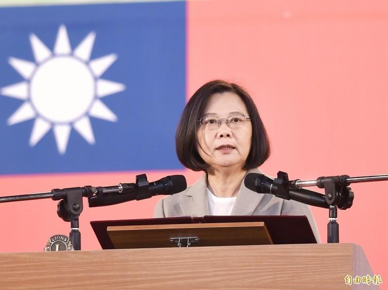總統蔡英文認為,中國禁止人民來台,是非常錯誤的決策。(資料照)