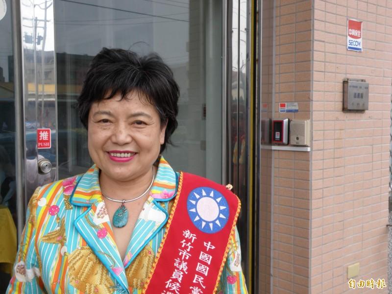 國民黨前新竹市議員李黃錦燕更二審判刑4年。(資料照)
