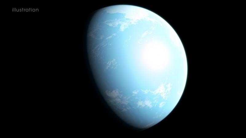 凌日系外行星巡天衛星在距離太陽系僅31光年外發現潛在適居的超級地球「GJ 357 d」。(擷取自NASA)