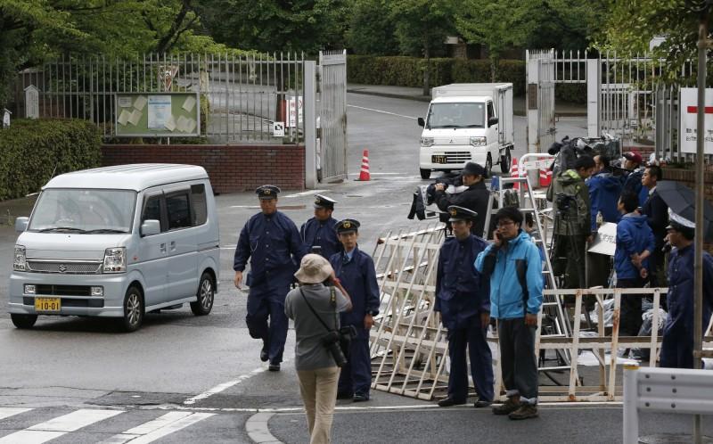 日本政府今執行2名死囚死刑,這是改元「令和」後首次執行死刑。圖為東京拘留所一景,內有絞刑室,是日本7座死刑刑場之一,示意圖與本新聞無關。(美聯社)