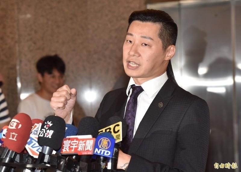 時代力量立委林昶佐1日宣布退出時代力量,以無黨籍身分投入台北市中正萬華選區。(資料照)