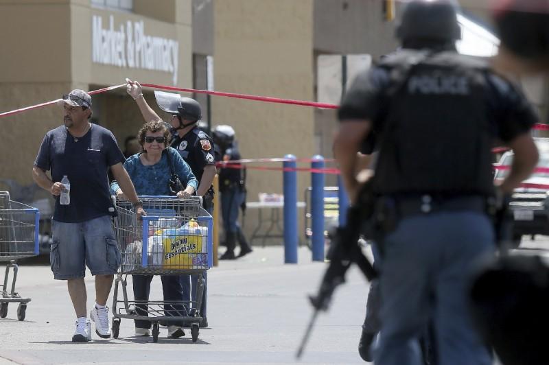 美國德州沃爾瑪槍擊案至少20死26傷,現代美國歷史上10起死傷最嚴重的槍擊案裡,有4起就是發生在德克薩斯州。(美聯社)
