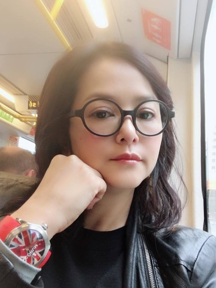 香港女星葉蘊儀譴責港警以「性暴力」鎭壓示威者。(擷取自葉蘊儀臉書)