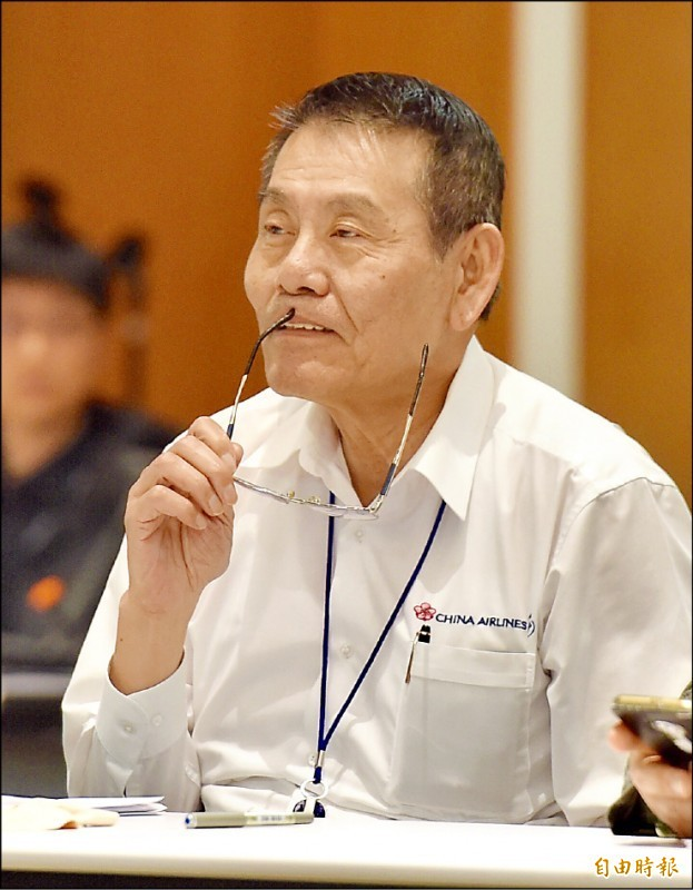 華航總經理謝世謙。(記者黃耀徵攝)