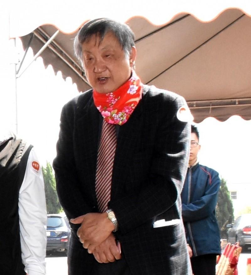 前彰化縣文化局長陳慶芳生前關注台灣本土文化,文化活動常可見其身影。(圖記者張聰秋翻攝)