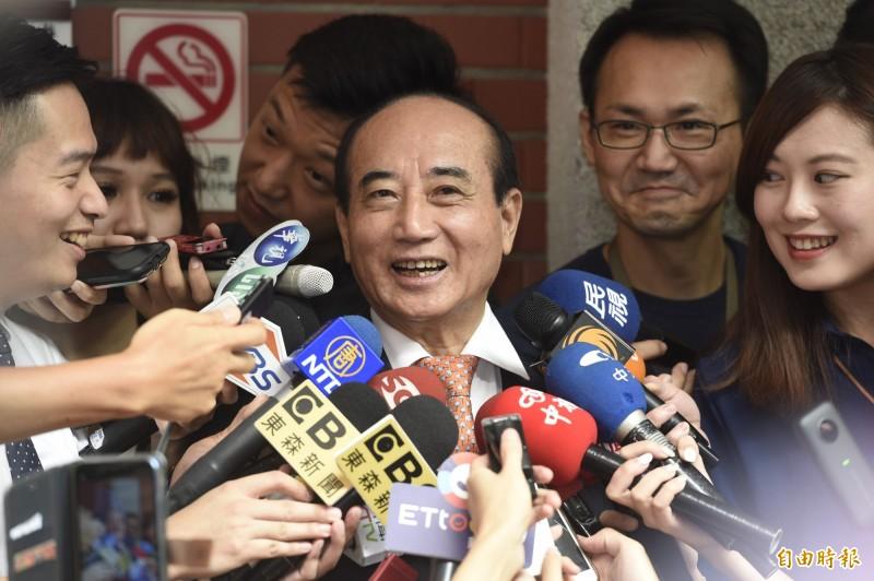 若郭柯聯盟能順利整合王金平(見圖)勢力,蔡英文仍以34.3%擊敗韓國瑜的29.7%、郭柯王聯盟的28.9%勝出。圖為王金平。(記者叢昌瑾攝)