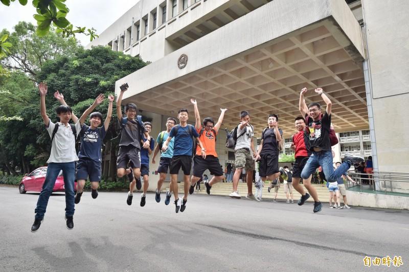 108學年大學考試分發管道今天上午8時公布榜單,共提供近3.5萬個名額,約4.2萬名考生登記志願,考生可上網站(http://www.uac.edu.tw)或用「登記查榜APP」,快速查詢個人榜單。(資料照)