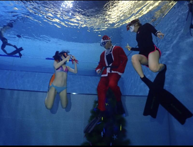 標榜亞洲首座的「潛水旅館」,中午驚傳潛客疑溺水意外,圖與新聞事件無關。(擷圖自網路,記者許國楨翻攝)