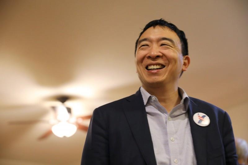 台裔企業家、美國民主黨總統候選人楊安澤。(路透)