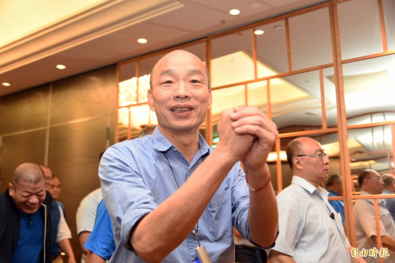 香港5日大罷工引發全球關注,高雄市長韓國瑜強調支持香港民主自由的同時,卻又以「動亂」形容這些行動,引發外界議論。(資料照)