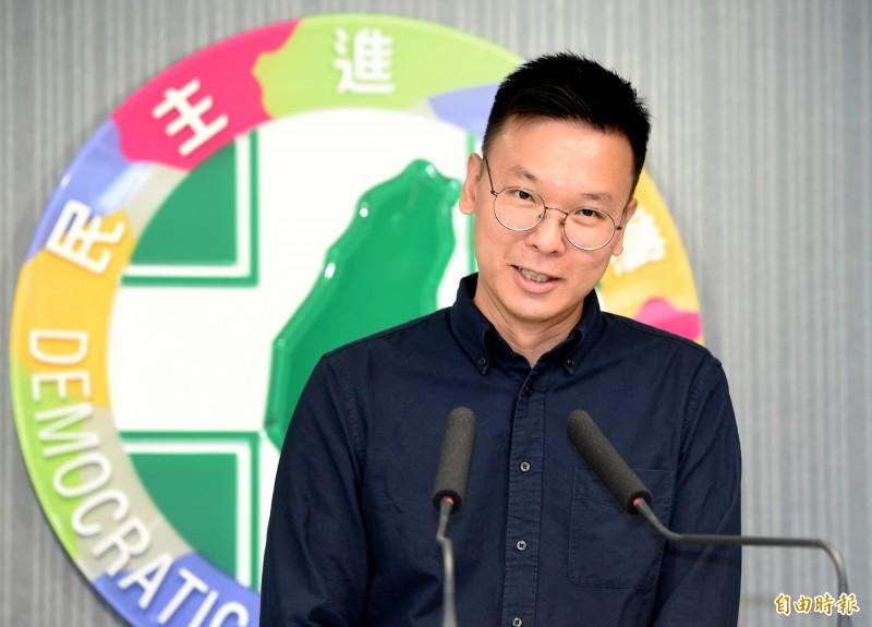 民進黨副秘書長林飛帆表示,他個人目前沒有任何選舉規劃。(資料照)