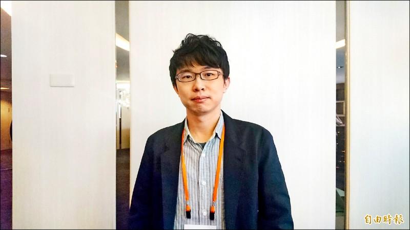 成功大學物理學系副教授張泰榕放棄中國青年千人計畫,選擇把最精華的時間留給台灣。 (記者劉婉君攝)