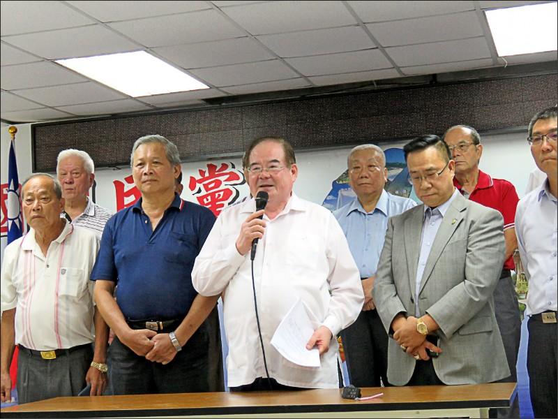 國民黨新北市黨部日前召開考核紀律委員會委員會議,決議開除陳宏昌黨籍。(資料照)