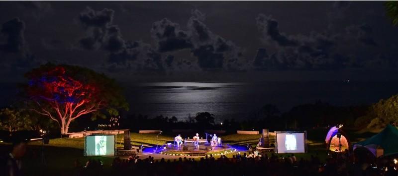 東海岸「月光.海音樂會」16、17日連續2天舉辦。(圖取自活動官網)