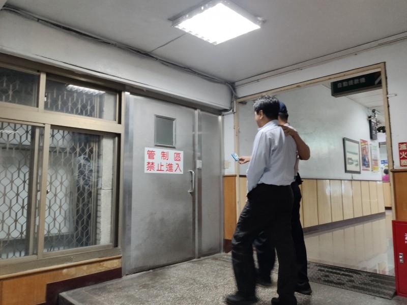 桃園機場公司工程處長林文楨已收押。(記者周敏鴻翻攝)