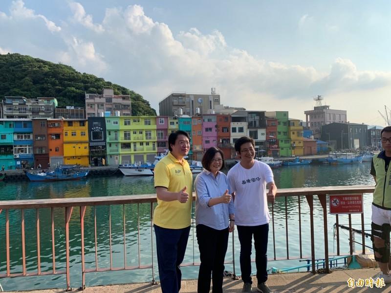 台北市長柯文哲喊組聯合內閣,蔡英文總統說,問題的核心在於政黨的目標、核心價值是什麼,確實向人民說清楚。(記者林欣漢攝)