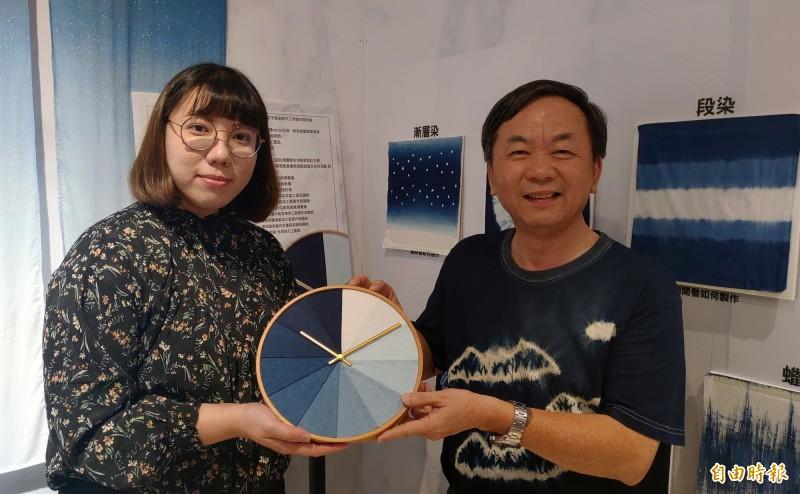 「太平藍」聯展  百年藍染工藝走入現代
