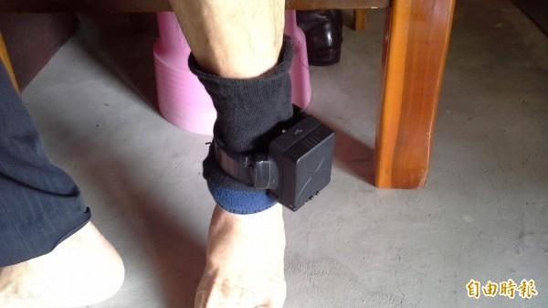 電子腳鐐應由法務部或法院執行,目前未達共識。(資料照)