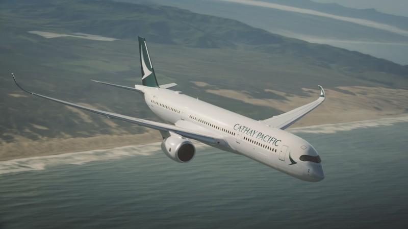 國泰航空及國泰港龍稍早宣布今日台港航班異動,共有8班次取消、8班次延誤起飛。(資料照)