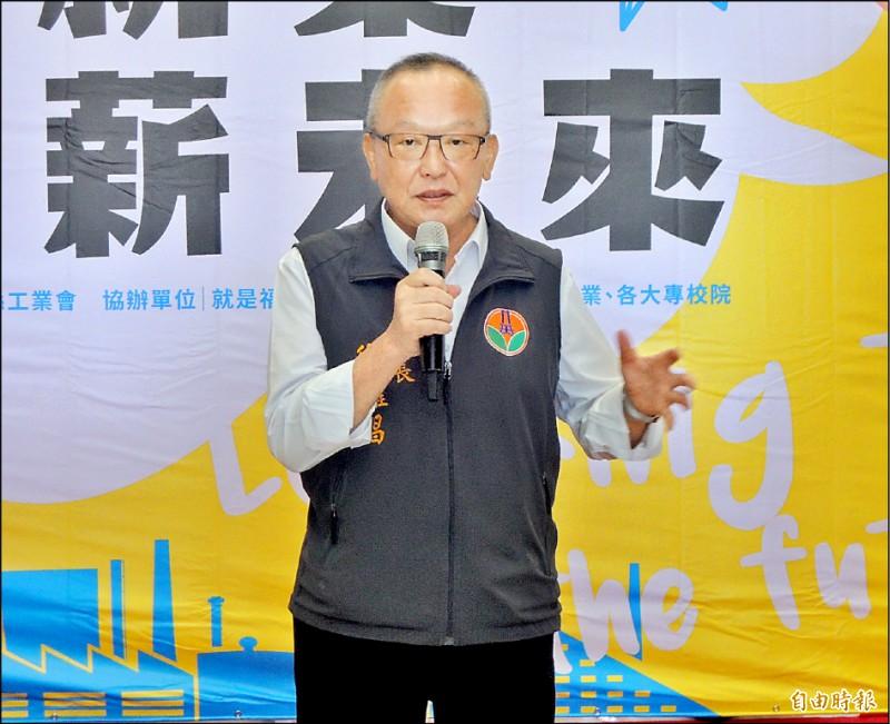 針對涉及頭份垃圾場棄土弊案,苗栗縣長徐耀昌多次表明自己清白、無罪。(記者張勳騰攝)