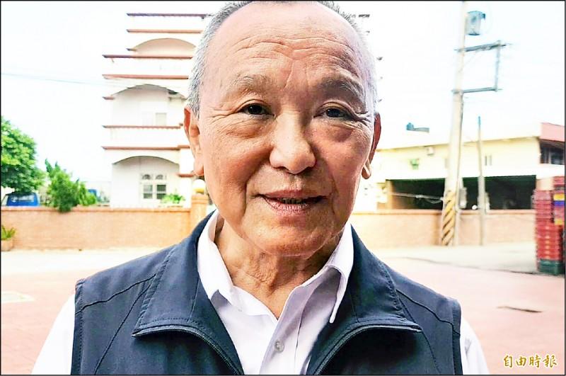 對於辭縣長、由妻參加補選的傳聞,徐耀昌予以駁斥。(記者彭健禮攝)