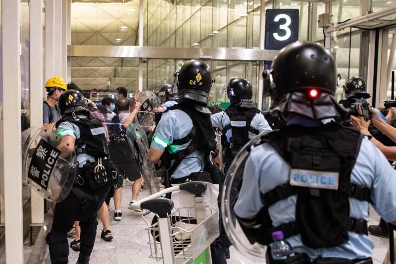 憂香港局勢惡化,紐西蘭政府已著手制定撤僑計畫,以便在必要時撤離留港紐西蘭僑民。(歐新社)