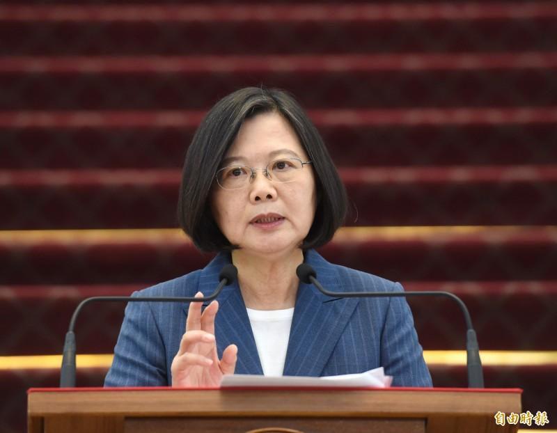 紐約大學法學院教授孔傑榮(Jerome Cohen)14日表示,由於多數台灣人對於香港最近的情勢感到震驚,總統蔡英文可能會連任。(資料照)