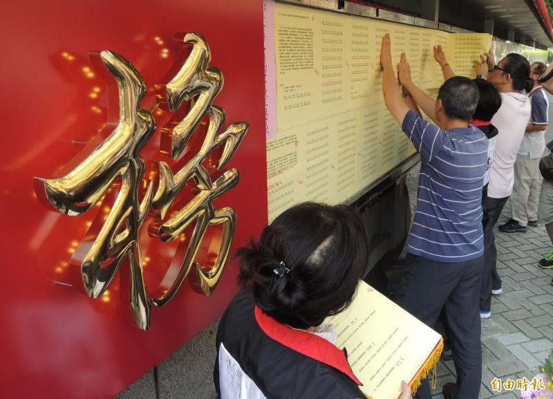 109年度19項國考日期出爐,考生數最多的高普考明年7月10日登場。(資料照)