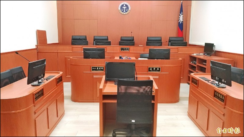 桃園地院法官俞力華5年間無故遲延了45案,職務法庭昨免除俞的法官職務。(記者吳政峰攝)